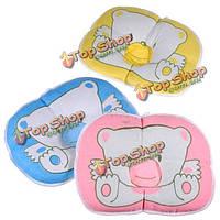 Младенцев Baby медведь хлопок подушка предотвращения плоской головкой валика пусковой площадки