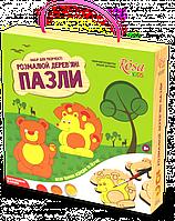 Набор пазлы деревянные «Лесные животные» ROSA KIDS (N0001902)