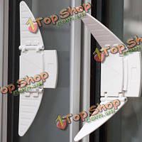 2шт безопасности детей замки Windows двери кодовый замок протектор скольжения