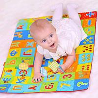 Развивающий коврик для малышей + 4 игрушки