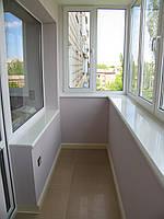 Внутреняя обшивка балкона