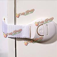 5шт холодильник туалет ящики малышей малышей для безопасности ребенка пластиковые замки протектор