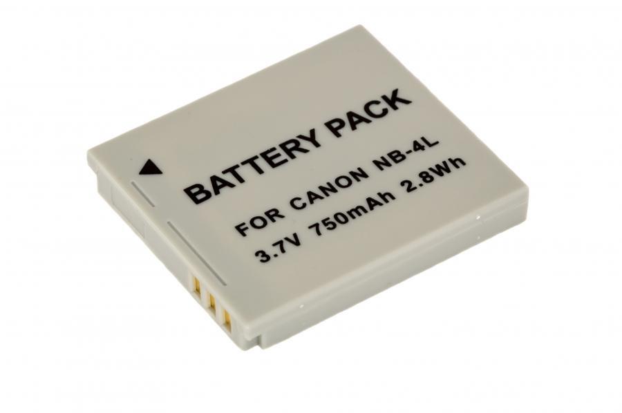 Аккумулятор CANON NB-4L Гарантия 1 год