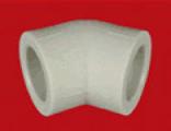 Колено Ø90 мм. 45 градусов FV-Plast