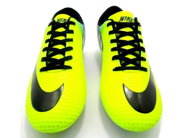 Футбольные бутсы Nike Mercurial FG Volt/Blue/Black