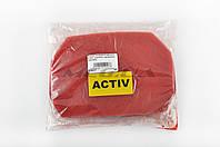 Элемент воздушного фильтра   на мопед Viper Active   (поролон с пропиткой)   (красный)