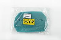 Элемент воздушного фильтра   на мопед Viper Active   (поролон с пропиткой)   (зеленый)