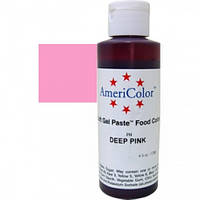 Краситель гелевый AmeriColor (Америколор)  Темно розовый 128 г
