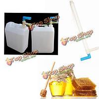 Мед насос для заполнения пчеловодстве инструменты оборудование медовые разливочная машина пчеловод инструменты