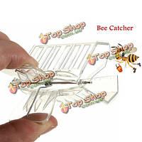 Ловец пчелы клетки ловца пчелиной матки скрепки пчеловодства длительный инструмент пасечника оборудует