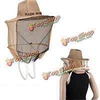 Пчеловодство оборудование лицо протектор насекомое рыболовное крышки шлема пчеловодстве защитную одежду