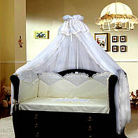 Защита на кроватку с вышивкой GreTa Lux Эдем