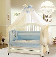 Защита на кроватку с вышивкой GreTa Lux Мечта