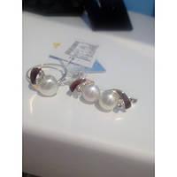 Серебряный комплект из серебра с напайками золота, фото 1
