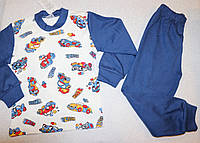 Пижама на мальчика с машинками  100 % хлопок 6 лет