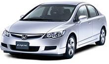 Защита двигателя на Honda Civic 8 (2006-2012) хэтчбек \ седан