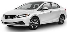 Защита двигателя на Honda Civic 9 (2011-2017) хэтчбек \ седан
