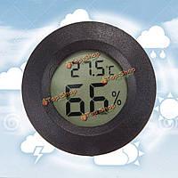 Мини ЖК-цифровой термометр цельсия измеритель влажности метр морозильной камеры тестер температуры и влажности обнаружения