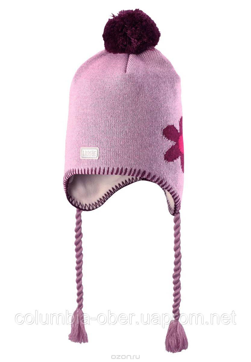 Детская зимняя шапка для девочки Lassie by Reima 728698 - 5120. Размер S.