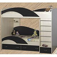 Двухъярусная кровать для детей (Континент), фото 1