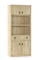 Книжный шкаф 4Д + 1Ш  Валенсия