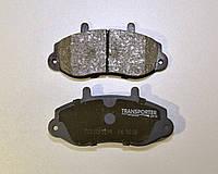 Дисковые тормозные колодки передние (R15) на Renault Master II 1998-> 2001 Transporterparts (Франция) 04.0157
