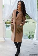 Женское пальто кашемир р-40087