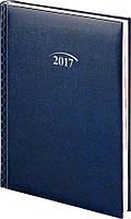 Щоденник 2017 Стандарт Графо синій