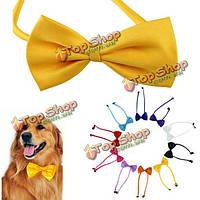 Многоцветной домашних собак лук галстук собака шеи галстук галстук кошки уход за домашними животными поставок