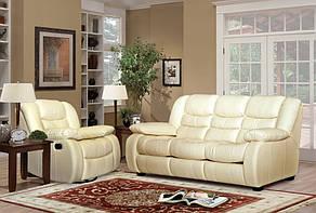 Кожаный комплект мебели Ashley, мягкая мебель, мебель в коже, кожаная мебель, комплект мебели, фото 3