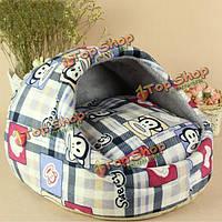 Отрезные летние сезоны кинологический моющийся любимчика кровать собаки гнездо для мусора кошки плюшевый небольшой питомник