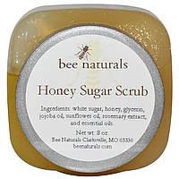 Пилинг для рук и ног, Sugar Scrub, Bee Naturals, 226 г