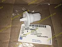 Привод (валик шестерня) переключения температуры блока управления Ланос Сенс Lanos Sens GM 95710862
