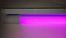 Светодиодный фитосветильник SL-010F 10W линейный (fito spectrum led) Код.58739, фото 2