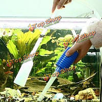 Сифон вакуумный Водяной насос гравий чище аквариум фильтр