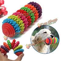 7 этаж красочные Pet собака скольжения шестерни молярной чистка зубов жевать игрушки
