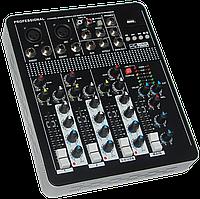 Микшерный пульт MixMaster T-4 USB+Bluetooth, фото 1