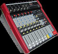 Активный микшерный пульт MixMaster ST-62P USB/SD+Радио пульт, фото 1