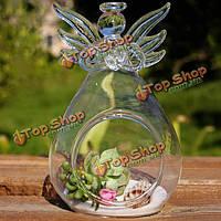 DIY микро стекольный завод Форма пейзаж висит ангел ваза дома сад украшения партия
