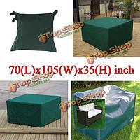 180x268x90см сад уличная мебель водонепроницаемого дышащего пылезащитный чехол стол приют