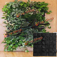 36 карманов настенный подвесной плантатора крытый открытый рассада растение расти мешок