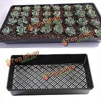 54см прямоугольник проращивание растущий лоток PP пластиковый садовый питомник рассады пластины