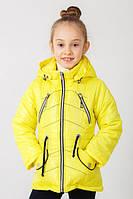 Детская куртка -парка для девочки весна осень