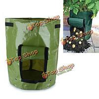 ЧП посадки овощей мешок картофеля помидоры балкон сад плантатор