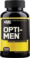 Витамины для мужчин оптимен Optimum Nutrition Optimen 150 таблеток opti-men