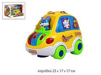 Развивающая игрушка Музыкальный автобус 6013R, фото 1