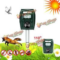 GreatHouse солнечная энергия звуковой LED фонарик кошка мышь Отпугиватель сад двор животное жмых