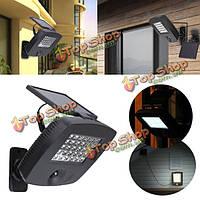 Солнечная энергия суперяркие PIR инфракрасный свет индукции сад гараж балкон 30 LED настенный светильник