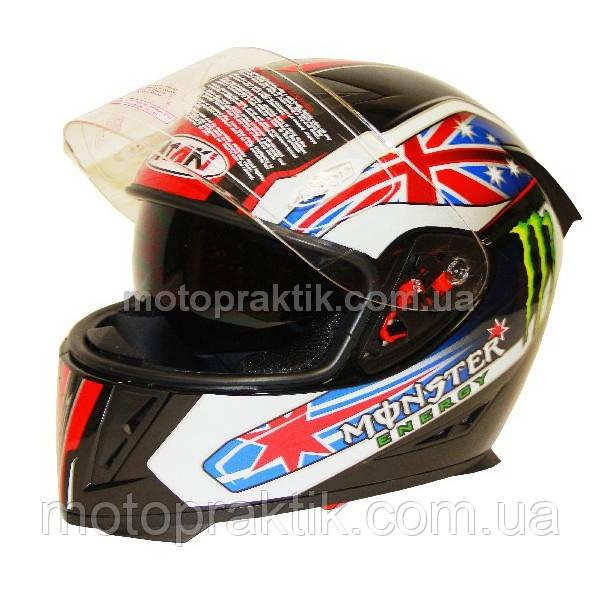Шлем (интеграл) Ataki FF311 Monster