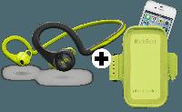 Plantronics Backbeat Fit беспроводные наушники и чехол на руку, фото 1